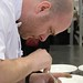 Lee Humphries of Vancouver gets to plating under time