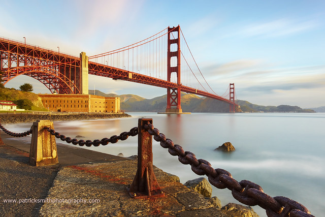 Suspensions - Golden Gate Bridge, San Francisco, California por Patrick Smith