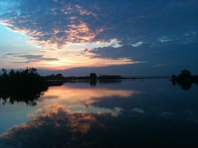 Sunset- bayside