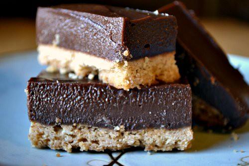 Chocolate Dulce de Leche Bars