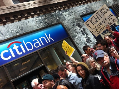 Fight foreclure block by block #occupychicago #citibank #m16 #ochi #nato #ows #nonato