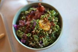 Kale Caesar with bacon | Bufala