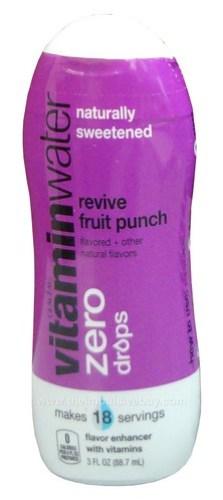 VitaminWater Zero Revive Drops