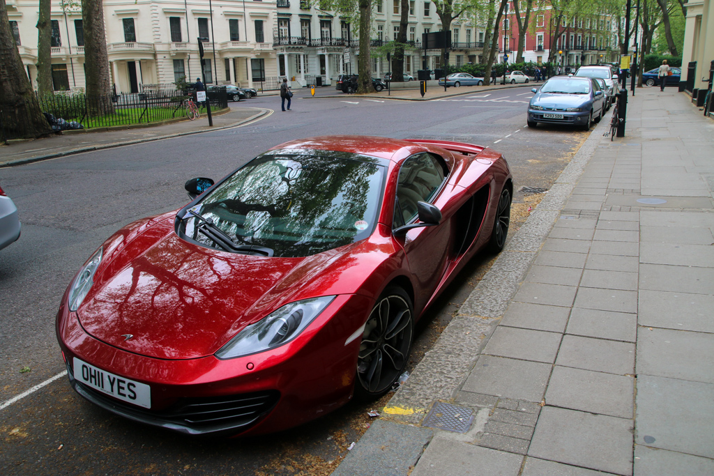 Nice cars in London