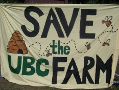 Save the UBC Farm ©Scout