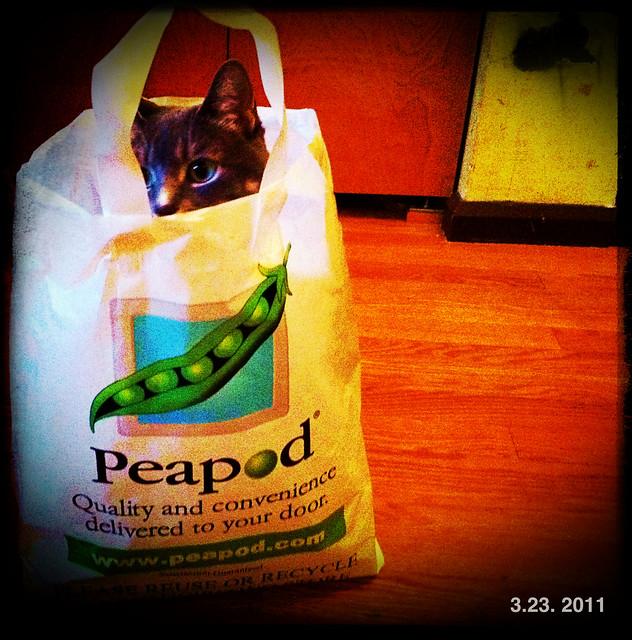 A fan of Peapod