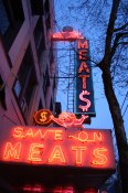 Save On Meats Signage
