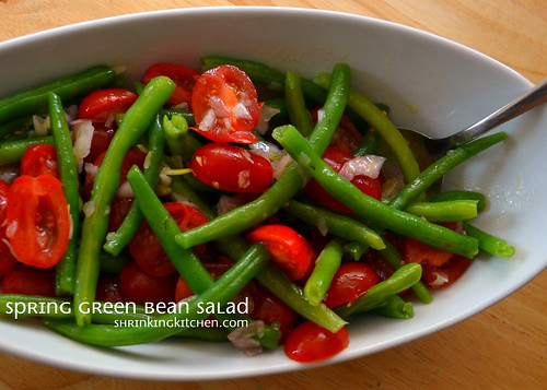 Spring Green Bean Salad from the Shrinking Kitchen