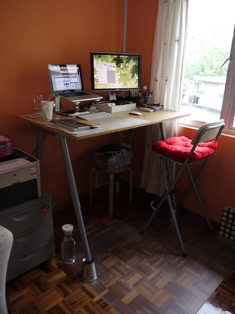 Contemporary Ikea Standing Desk Galant Diy With Ideas