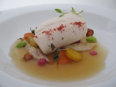 Granville Island Kasu Black Cod in a miso broth