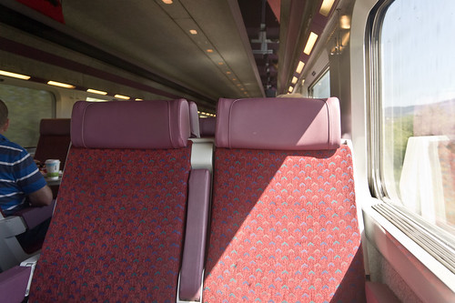 Enterprise Express Service To Belfast (inside the train)