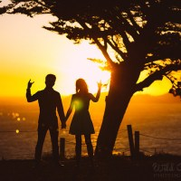 Things you might not expect from an engagement photo session (and the importance of bug spray)