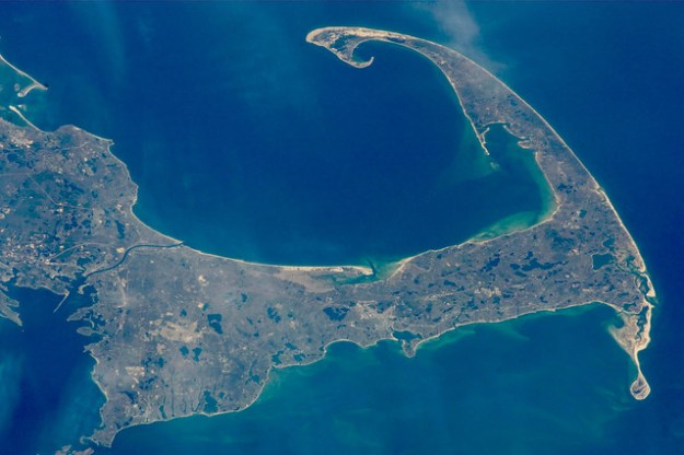 Aerial Shot of Cape Cod