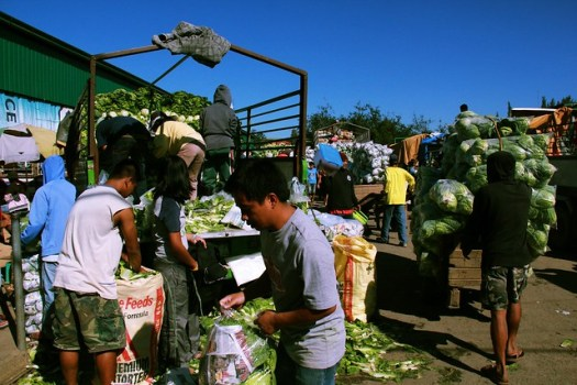 Vegetable market, La Trinidad, Benguet