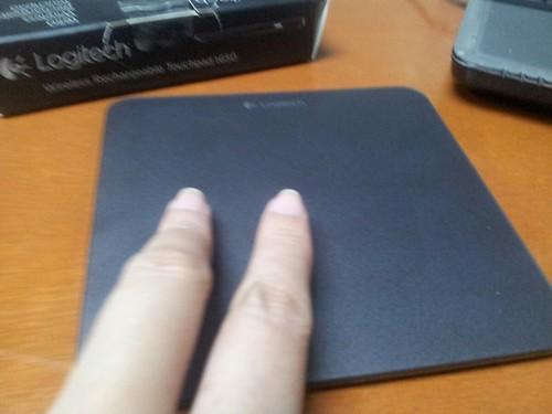 Logitech touchpad