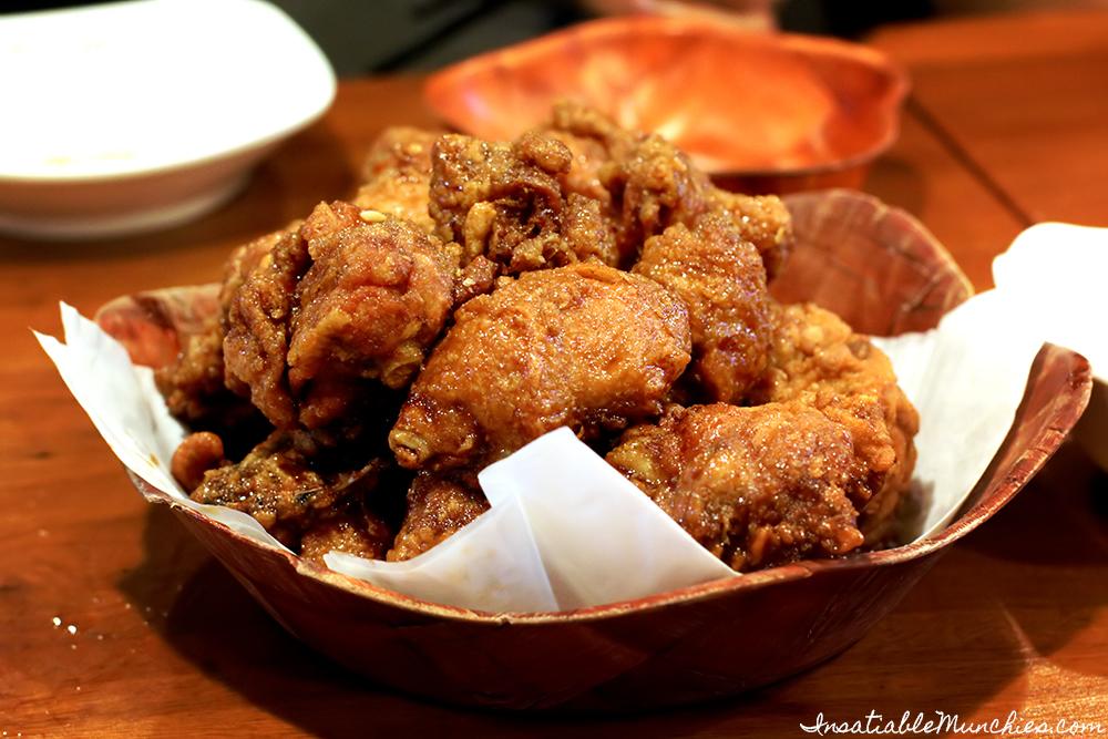 Soy Glazed Fried Chicken, Arisun