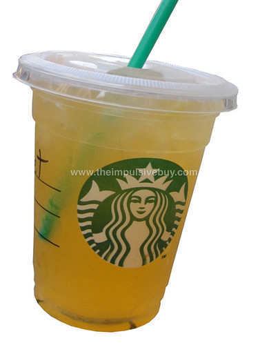 Valencia Orange Starbucks Refreshers