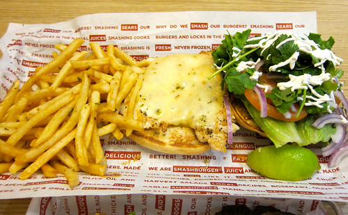 Smashfries ($1.99) / Fresh Mex Grilled Chicken Sandwich ($6.99)
