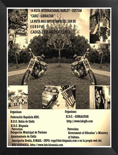 XIV Ruta Internacional Harley-Custom - Cadiz-Gibraltar