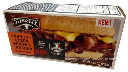 Steak-Eze Philly Steak Bacon & Cheddar