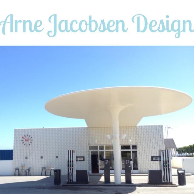 Dansk bensinmack designad av Arne Jacobsen