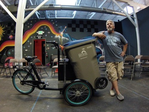 Joe Tate's new Raven bike
