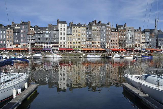Visit Normandy _ Honfleur's Reflection