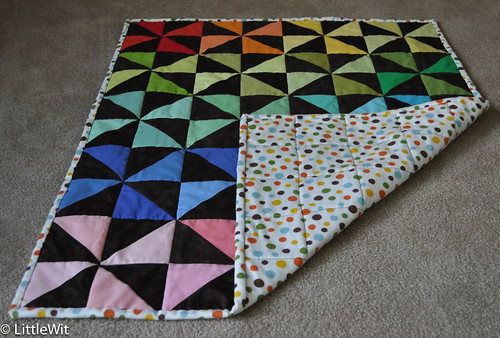 Cora's Quilt - with back