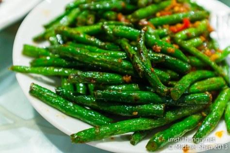 Green beans iron chef