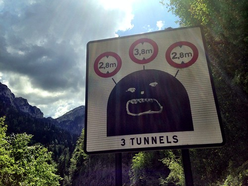 Scary tunnels