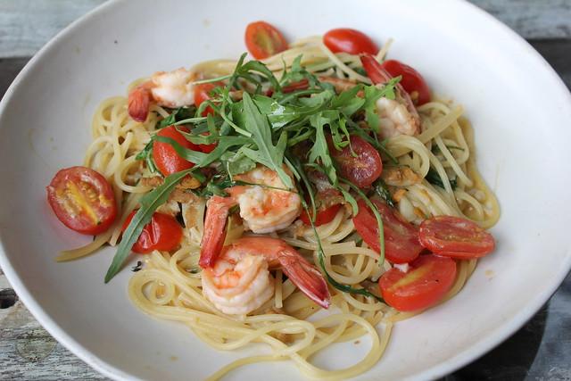 GP Pasta - Spaghettini with uni and prawn [IMG_4130]