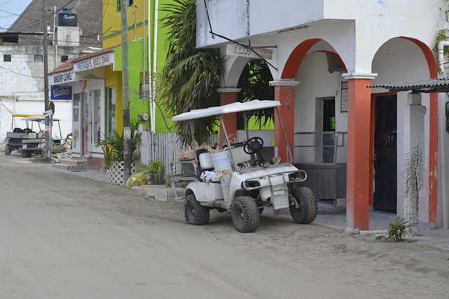 Cancun alternatives _ Isla Holbox chicken delivery