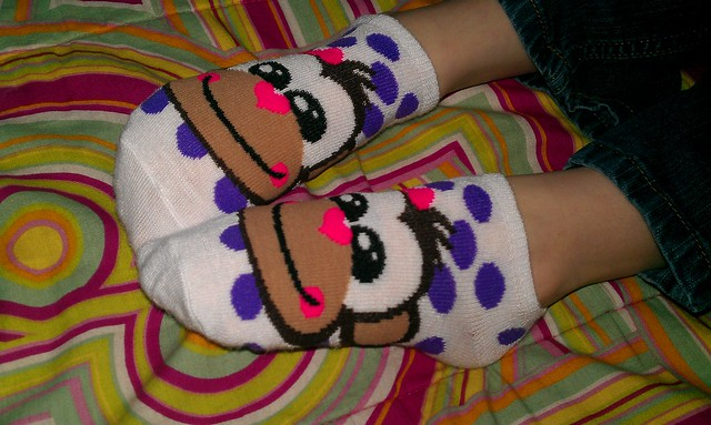 096/366 [2012] - Monkey Wears Monkey Socks