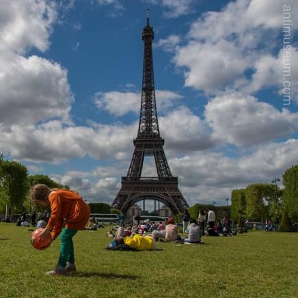photographie - Eiffel tower & champs de mars