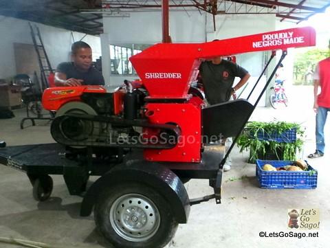 Negros-Made Shredder Machines