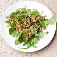 Lentil Salad with Arugula and Currants