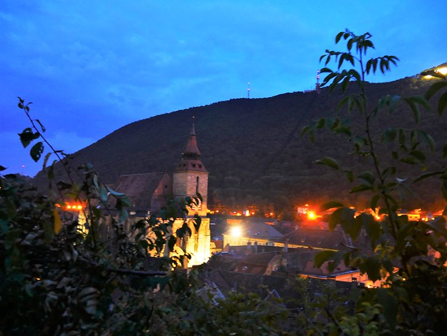 Alternative European City Breaks _ Brasov at Night