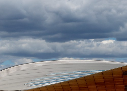 Stormy skies over the Velodrome by Dave Lockwood DA12