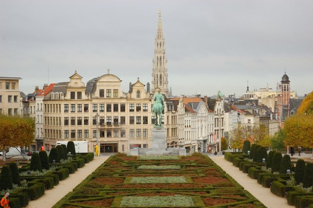 View from the Mont des Arts / Kunstberg