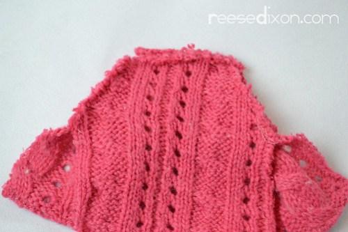 Miniature Sweater Ornament Tutorial Step 4