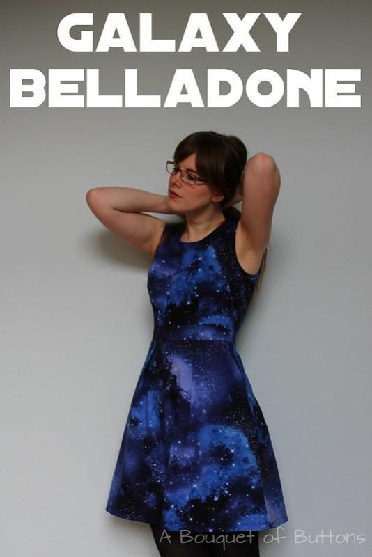 Galaxy, Belladone, Deer & Doe, Dress, Jurk, Timeless Treasures