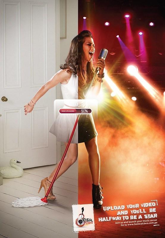 Festival Claro - Singer Bathroom