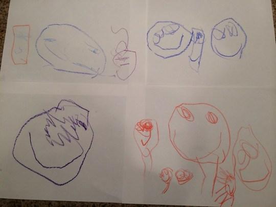 Annie's drawings