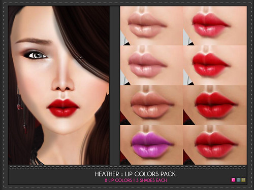 Heather Lip Cosmetics