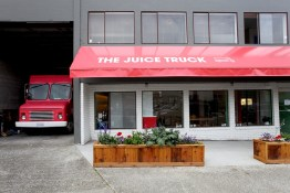 The Juice Truck Store Front | 28 W 5th (between Ontario and Manitoba)