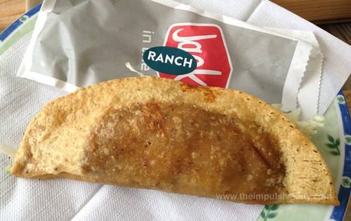 Jack in the Box Bacon Ranch Monster Taco