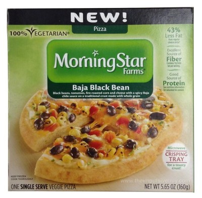 MorningStar Farms Baja Black Bean Pizza