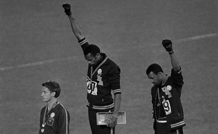 Tommy Smith John Carlos Black Power Salute