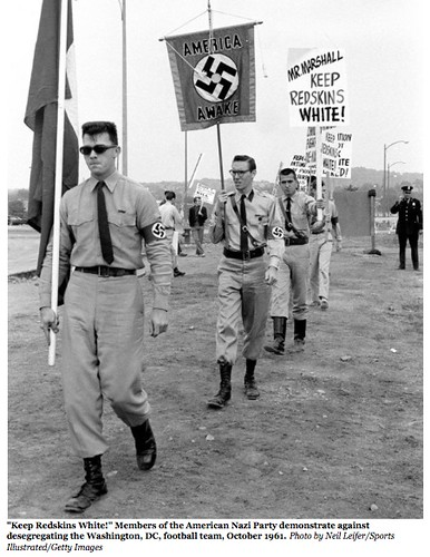 Nazis March for Redskins