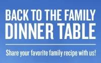AmFam Back To The Family Dinnertable Logo